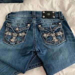 Miss me jeans (barely worn) size 26